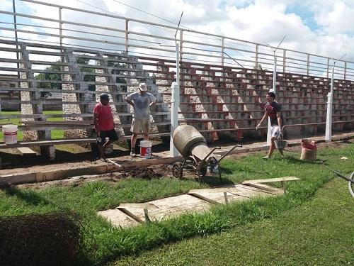 Club Bme Mitre realiza mejoras en el estadio