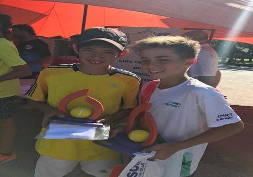 Excelente fin de semana para Giuliano en Reconquista campeón en single y dobles