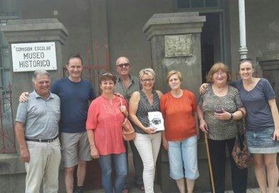 El Sr. Adrian Gerwer y su esposa Daniela Gerwer Zimmermann visitaron el Museo Histórico de la Colonia Humboldt