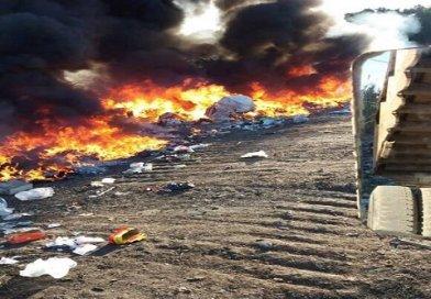 Prendieron fuego en la cava de Humboldt