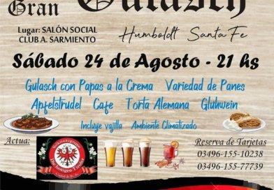Gran Gulasch!! El sábado 24 de Agosto te espera la mejor Fiesta Alemana en Humboldt