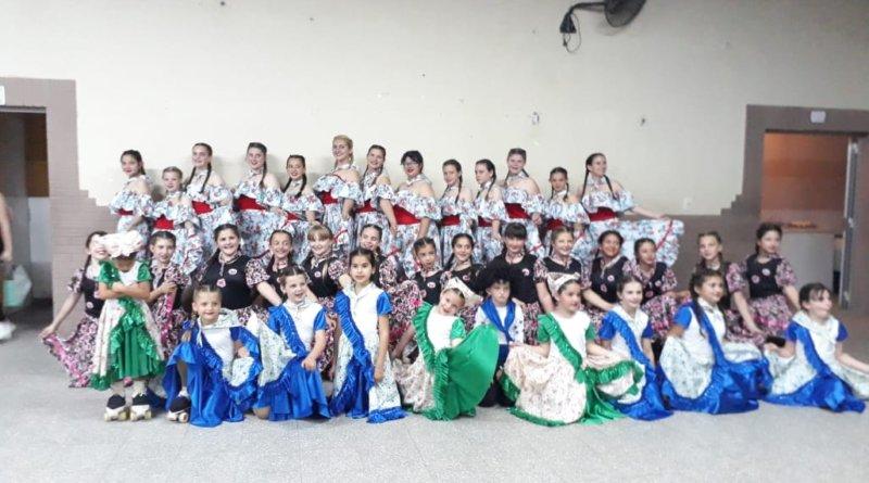 Club Juv Unida tuvo su festival de Patín este domingo