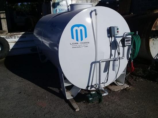 Comuna de Humboldt adquirió tanque 5000 lts