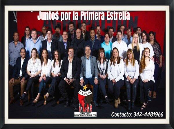 Agrupación Dr Ricardo Magdalena listos para las elecciones de Colón,ver propuesta
