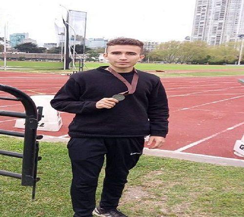 Santi Zabala deportista de Humboldt esta en el Centro Nacional de Alto Rendimiento en Buenos Aires