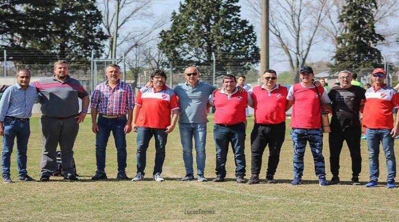 Presidentes de los equipos finalistas y de ambas Ligas posaron juntos en la previa de los primeros 90 minutos de la Final de la Copa  Federación